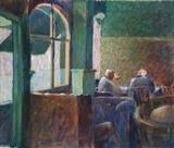 Early lunchtime at the Roebuck by Paul Williams, Painting