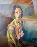 Sylvia by Paul Williams, Painting, Oil on canvas